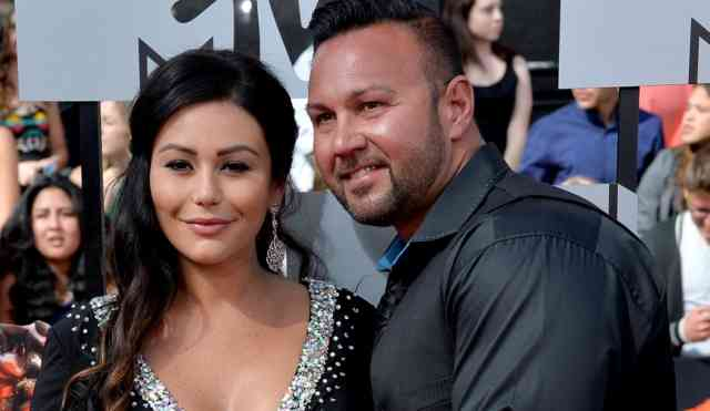 Baby JWoww Wedding Announcement Photos