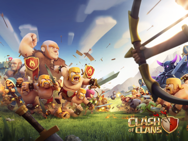 Best of Clash of Clans Halloween Wallpapers