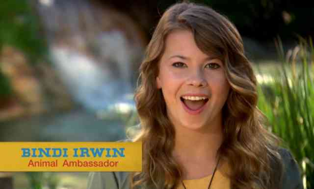 Bindi Irwin on Animal Ambassador