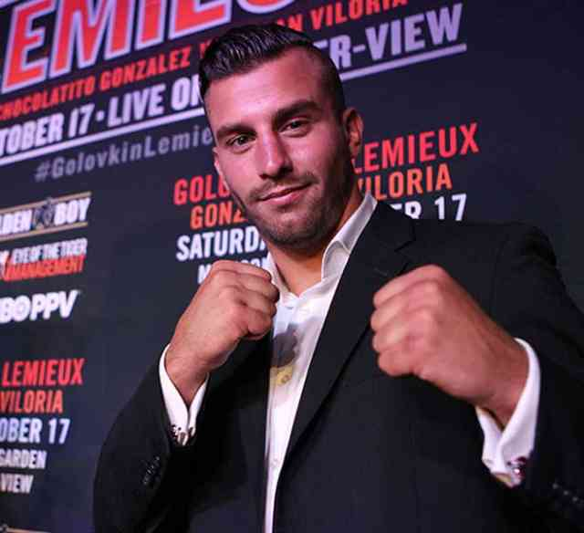 Champion David Lemieux Boxing – Boxe Photos