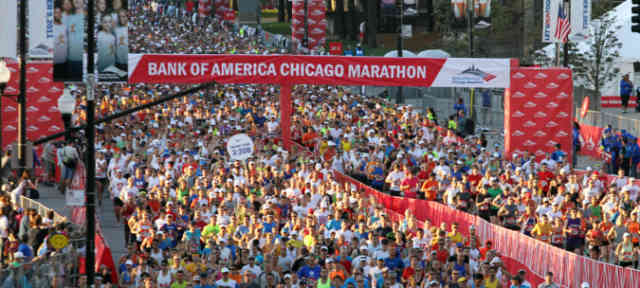 Chicago Marathon 2013 Start