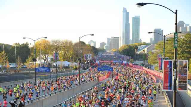 Chicago Marathon 2015 Photos