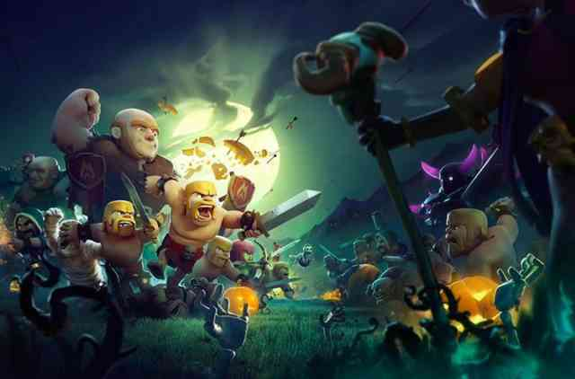 Clash of Clans Halloween 2015 Wallpapers