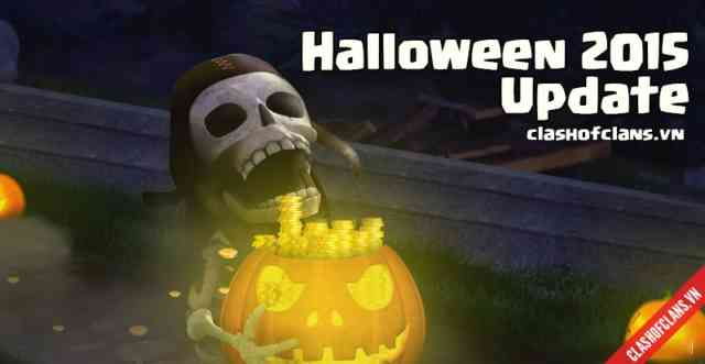 Clash of Clans Halloween 2015 update Photos #1