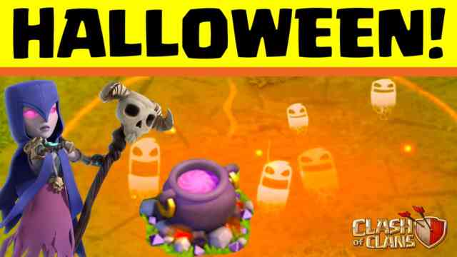 ClasClash of Clans Halloween 2015 update Photos #