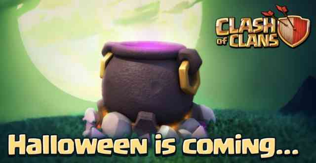 Clash of Clans Halloween 2015 update Photos