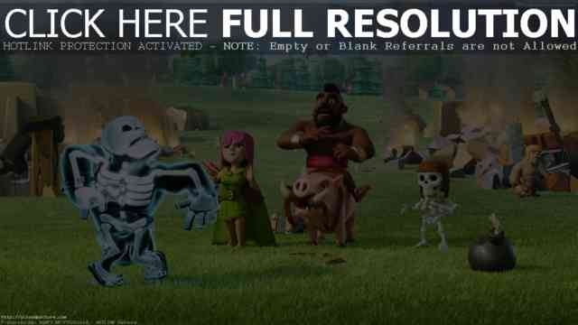 HD 2015 Clash of Clans Halloween Wallpapers