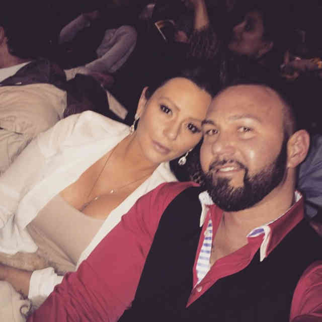 Instagram JWoww Reveals Wedding Photos