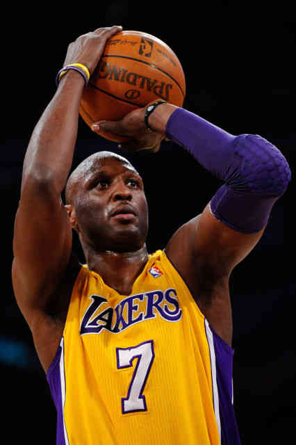 Lamar Odom Play with Lakers