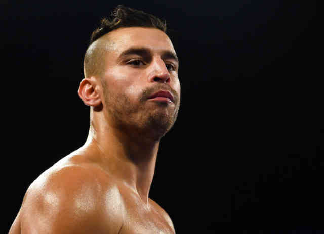 Serious David Lemieux Boxing - Boxe Photos