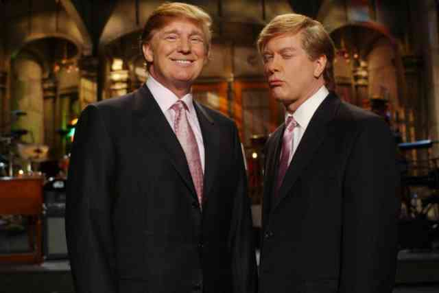 7 Nov Donald Trump at Saturday Night live PHOTOS