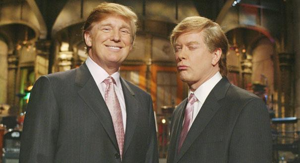 Actor SNL Donald Trump at Saturday Night live PHOTOS November 2015