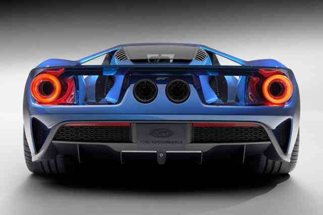 Back FORD GT 2016 Photos - Wallpapers