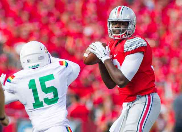 Begin Game Cardale Jones Photos FootBall Player