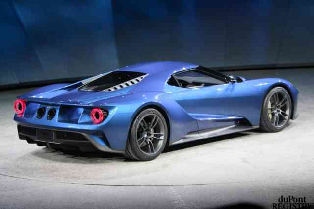 Blue Sky FORD GT 2016 Photos – Wallpapers