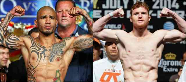 Canelo Alvarez WINNER Photos - Miguel Cotto Lost Boxing #11