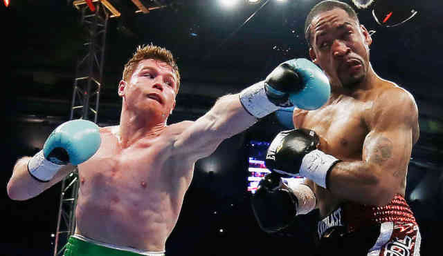 Canelo Alvarez WINNER Photos - Miguel Cotto Lost Boxing #2