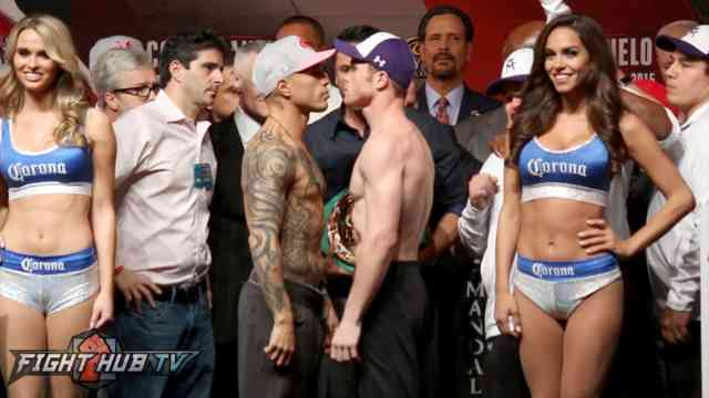 Canelo Alvarez WINNER Photos - Miguel Cotto Lost Boxing #3