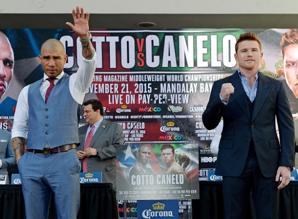 Canelo Alvarez WINNER Photos - Miguel Cotto Lost Boxing #4
