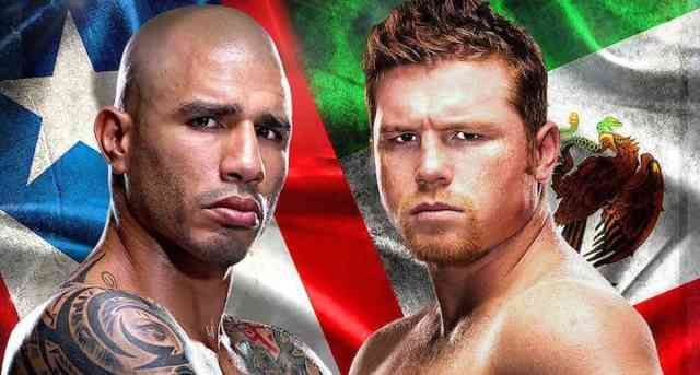 Canelo Alvarez WINNER Photos - Miguel Cotto Lost Boxing #7