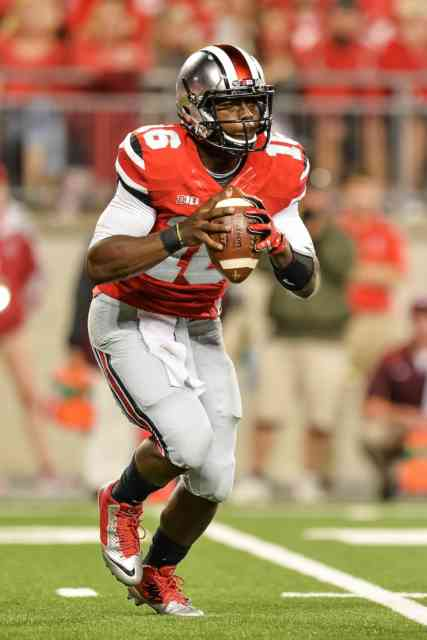 Cincinnati vs. Ohio Player J.T. Barrett HD Photos FootBall Player