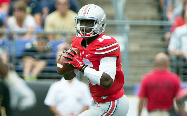 College game J.T. Barrett HD Photos FootBall Player