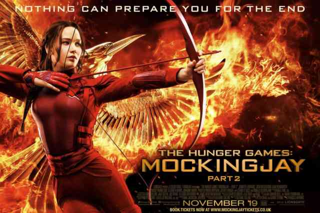 Cover Poster The Hunger Games Mockingjay Part 2