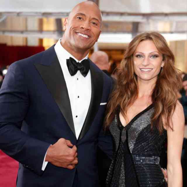 Dwayne Johnson and Lauren Hashian Baby Girl Super Model Photos