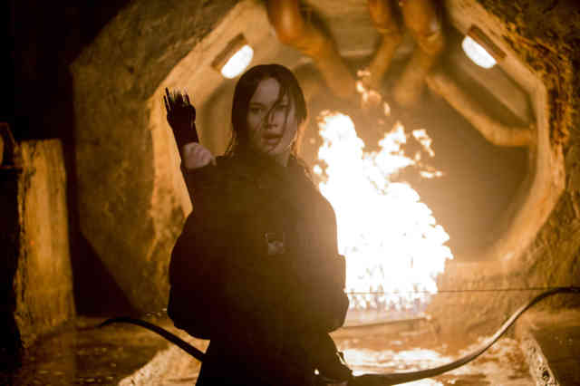 Fire Action The Hunger Games Mockingjay Part 2