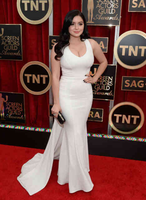 Golden Globe Ariel Winter 2015 American Actress-Singer Photos