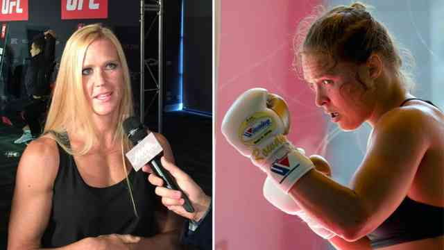 Holly Holm stuns Ronda Rousey PHOTOS