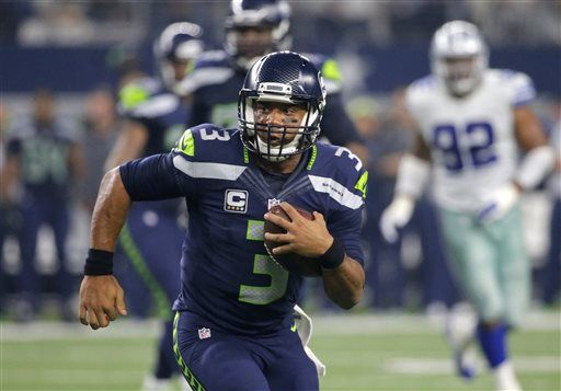 IMAGES Seahawks beat Cowboys 13-12 Photos