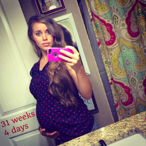 Instagram Pregnant Jessa Duggar Photos