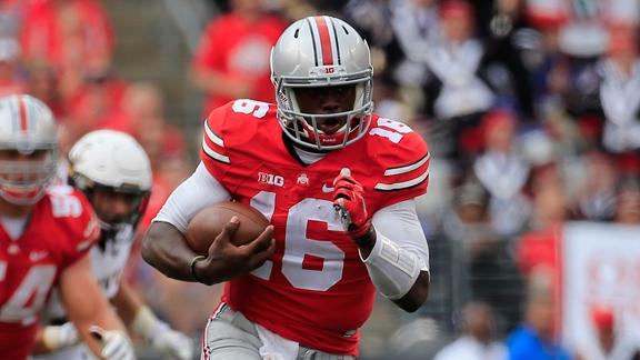 J.T. Barrett HD Photos FootBall Player