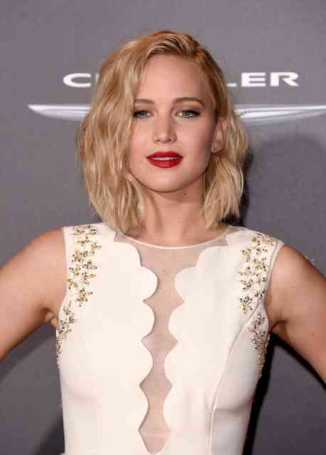 Jennifer Lawrence Premiere The Hunger Games Mockingjay Part 2