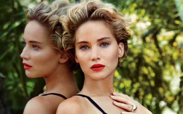 Like Miley - Jennifer Lawrence Most Paid Hollywood Actress 2015 Wallpaper