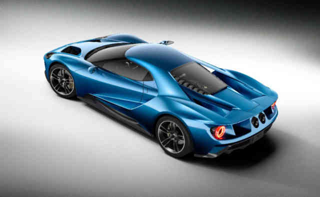 Magazine FORD GT 2016 Photos – Wallpapers