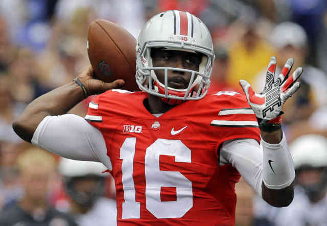 Player J.T. Barrett HD Photos FootBall Player