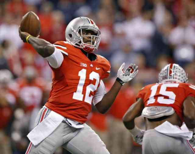 Quarterback Cardale Jones Photos FootBall Player