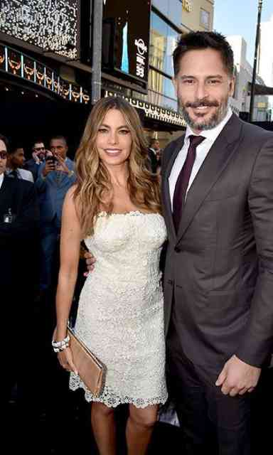 Sofia Vergara & Joe Manganiello at Hollywood