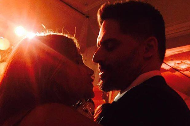 Sofia Vergara and Joe Manganiello Wedding Photos Dancing
