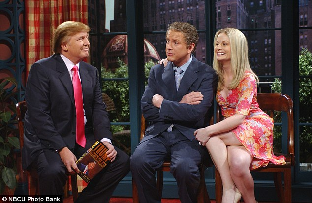 Trio Donald Trump at Saturday Night live PHOTOS