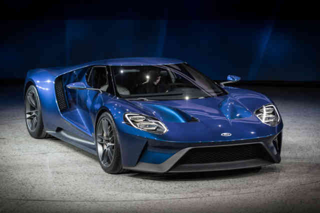 V6 ECOBOOST Engine FORD GT 2016 Photos – Wallpapers