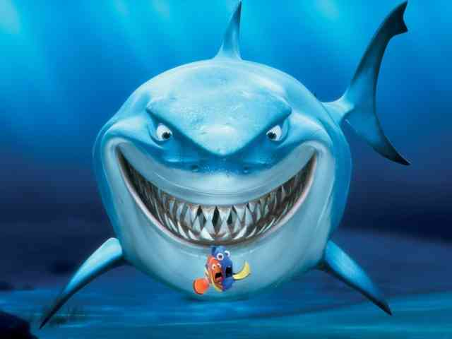 Wicked Shark Finding Dory Disney Movie Photoss