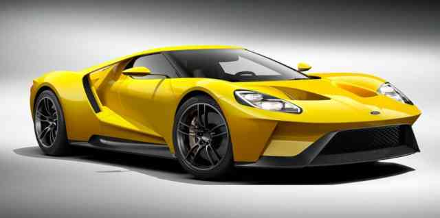 Yellow New FORD GT 2016 Photos – Wallpapers