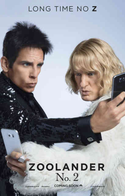 ZOOLANDER 2 New Movie Cover