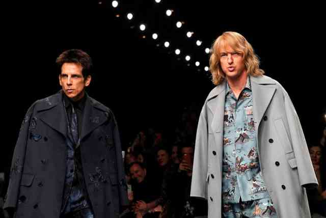 ZOOLANDER 2 New Movie Paris Fashion Mode