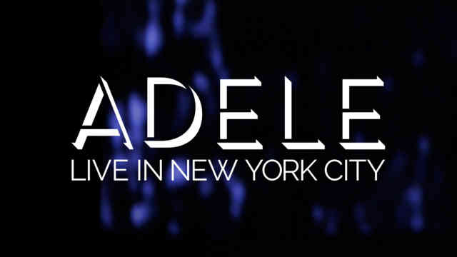 Adele : NBC Logo Concert Live in New York City Images
