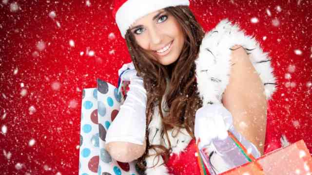 Babe Christmas Women HD Wallpapers