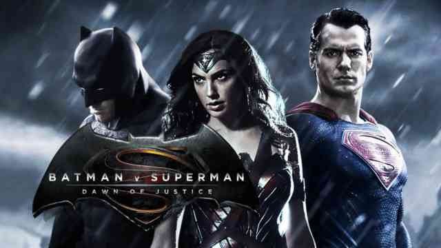 Batman vs Superman Movie Trailer